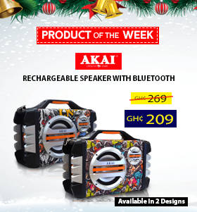 Akai Rechargeable Speaker