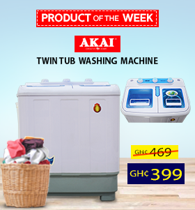 Akai Twin Tub Washing Machine