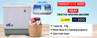 Akai Twin Tub Washing Machine