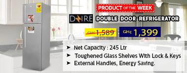 Dzire Doble Door Refrigerator 245L