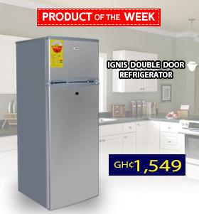 Ignis Double Door Refrigerator 212 Ltr