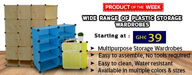 Plastic Storage Wardrobes
